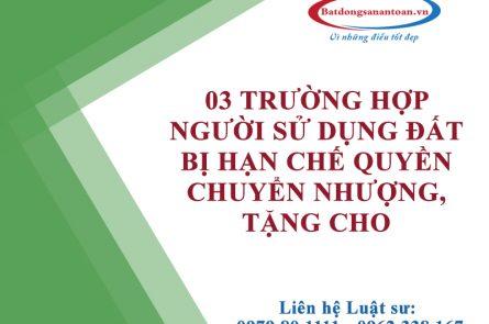 Han Che Chuyen Nhuong Tang Cho