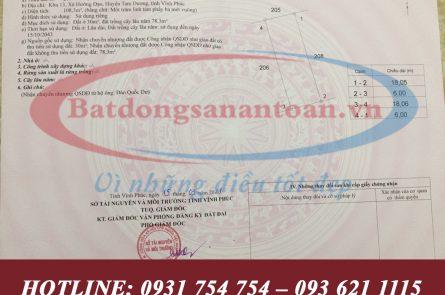 Ban Dat Khu 13 Xa Huong Dao